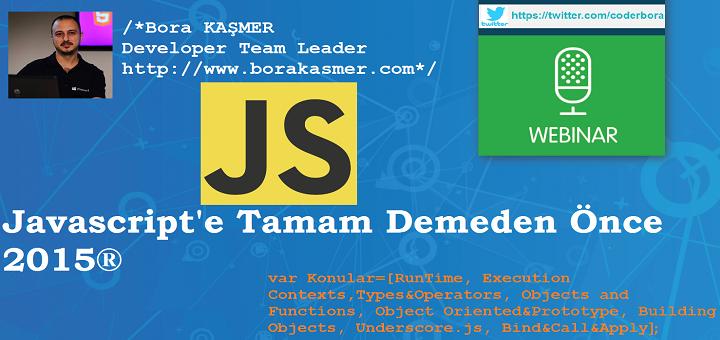 JavascriptWebinar